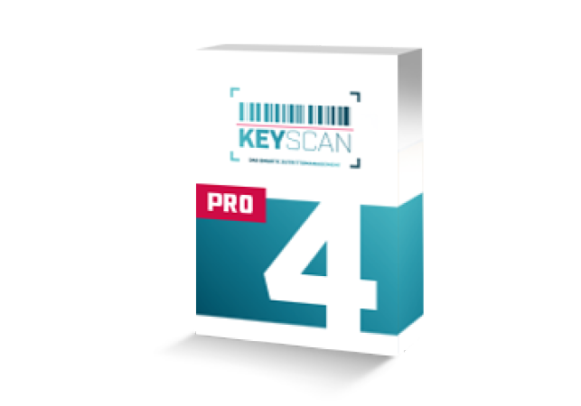 KeyScan auf dem Tablet